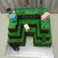 Minecraft kake.