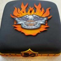 Harley Davidson kake