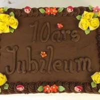 Sjokoladekake til 100 personer