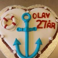 kake med maritime-tema