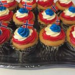 17 mai cup cakes