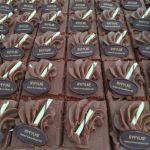 Sjokoladekakestykker